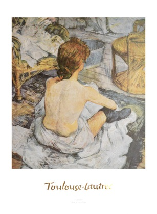 Henri Toulouse-Lautrec Die Toilette