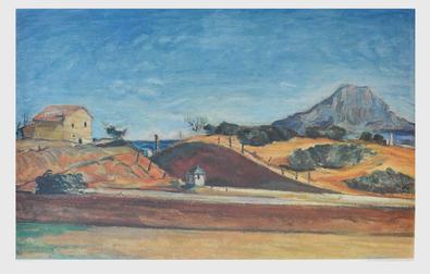 Paul Cezanne Bahndurchstich (gross)
