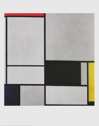 Piet Mondrian Composition II