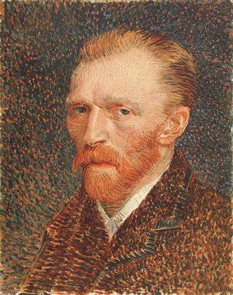 Van gogh vincent selbstportrait  in braun  large
