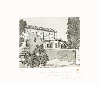 Horst Judith Chapelle de St Julien de Montredon Boisseron, 1975 (handsigniert)