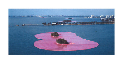 Christo Surrounded Islands Miami