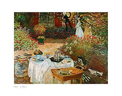 Claude Monet Le dejeuner
