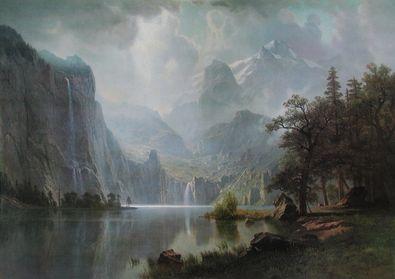 Albert Bierstadt Im Gebirge