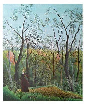 Henri Rousseau Spaziergang im Walde