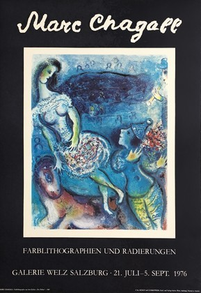 Marc Chagall Zirkus 1976