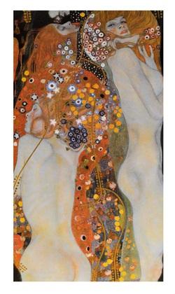 Gustav Klimt Die Wasserschlangen