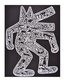 Haring keith dog 1985 medium