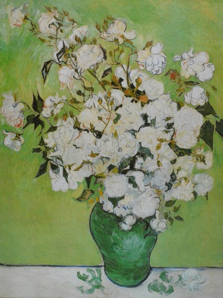 Vincent  van Gogh Vase avec Roses