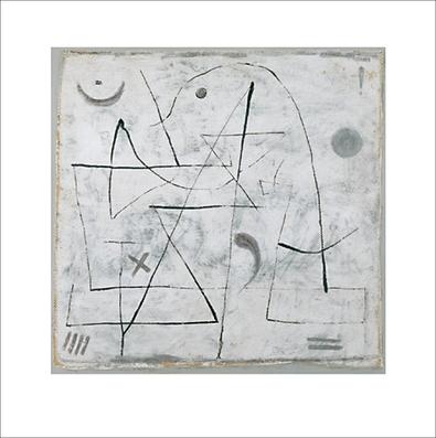 Paul Klee Gedanken bei Schnee, 1933