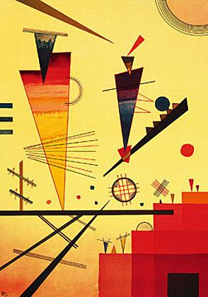 Wassily Kandinsky Struttura allegra