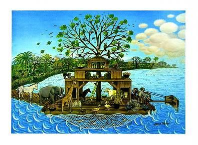 Erna Voigt Arche mit Vogelbaum (klein)
