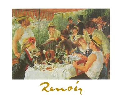 Pierre Auguste Renoir Fruehstueck der Ruderer
