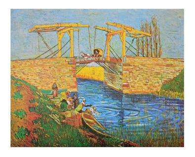 Vincent van Gogh Bruecke von Arles