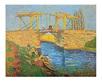Gogh vincent van bruecke von arles medium