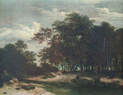 Jacob van Ruisdael Der grosse Wald