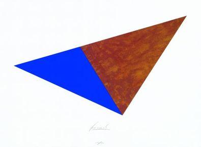 Juergen Freund Dreieck Rost und Blau