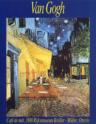 Vincent van Gogh Cafe bei Nacht, 1888