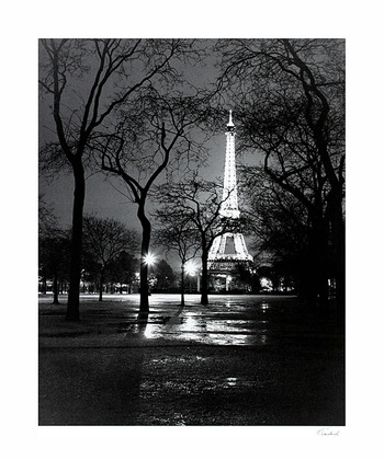 Toby Vandenack 3er Set 'La Tour Eiffel - Night, Spring, Summer'