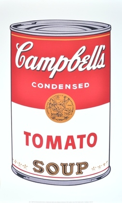 Andy Warhol Campbells Soup Tomato