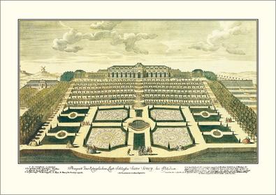 Johann David Schleuen Schloss Sanssouci
