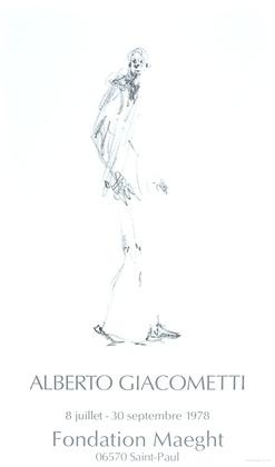 Alberto Giacometti Dessin I