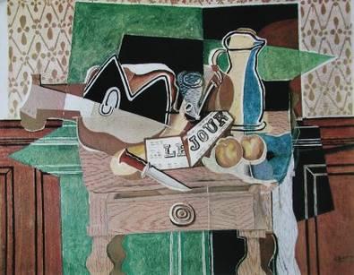 Georges Braque Stilleben Le Jour