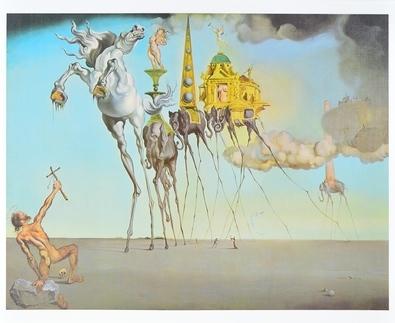 Salvador Dali Die Versuchung des Heiligen Antonius