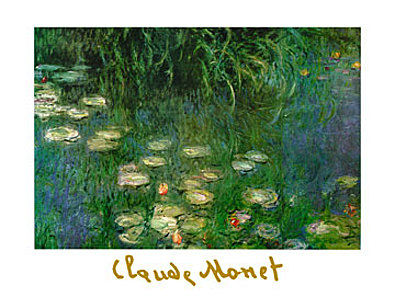 Claude Monet Ninfee dell Orangerie