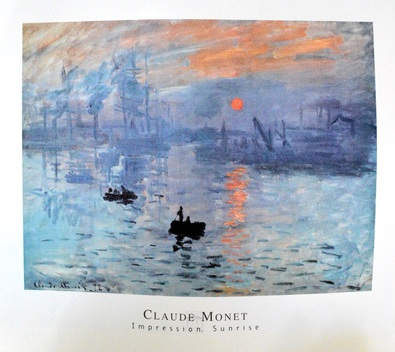 Claude Monet Impression, Sonnenaufgang
