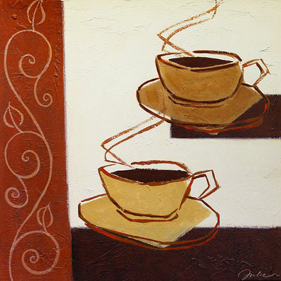 Julie Sanford 2er Set 'A Cup of Coffee Please' + 'Short and Hot'