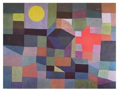 Paul Klee Feuer bei Vollmond   1933