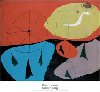 Joan Miro Landschaft