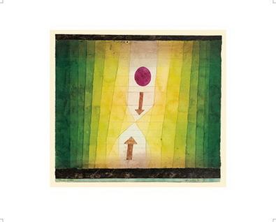 Paul Klee Vor dem Blitz, 1923, 150