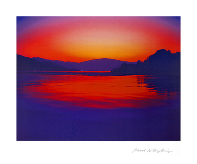 Gerd Weissing 2er Set 'Lago Maggiore I + II'