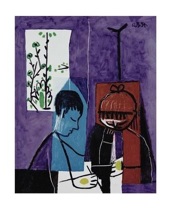 Pablo Picasso Zeichnende Kinder