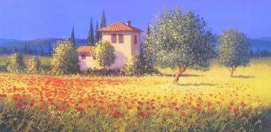David Short Summer Fields I