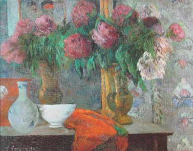 Paul Gauguin Die weisse Schale   Le Bol Blanc   1886