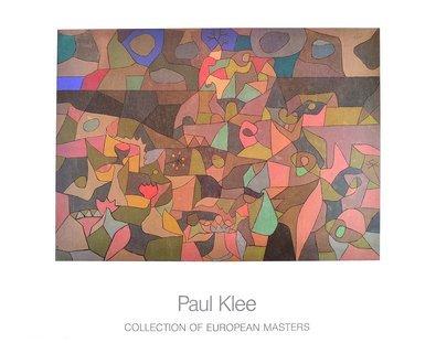 Paul Klee Garten nach dem Gewitter