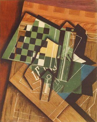 Juan Gris The Checkerboard