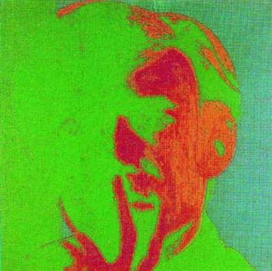 Andy Warhol Selbstprotraet gruen