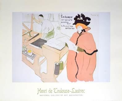 Henri Toulouse-Lautrec L'estampe originale
