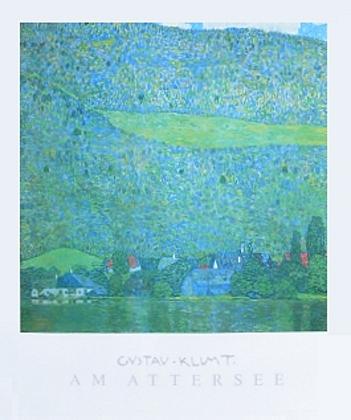 Gustav Klimt Am Attersee