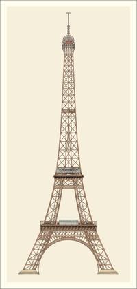 Gustave Eiffel Paris, Eiffelturm