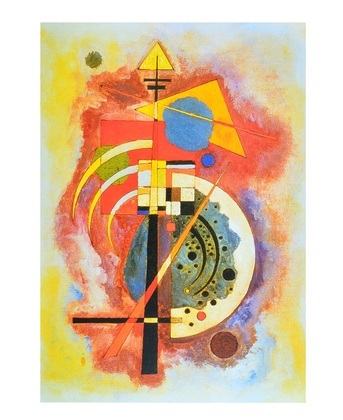 Wassily Kandinsky Homage a Grohmann