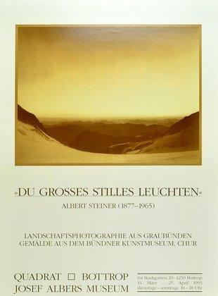 Albert Steiner Du grosses stilles Leuchten