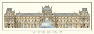 Ieoh Ming Pei Paris, Louvre Pyramide