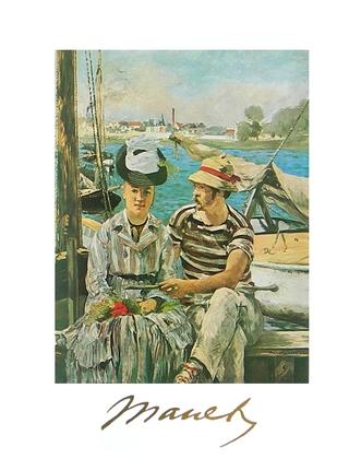 Edouard Manet Argenteuil