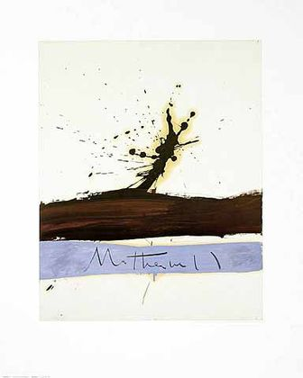 Robert Motherwell Beside the Sea 1 1962