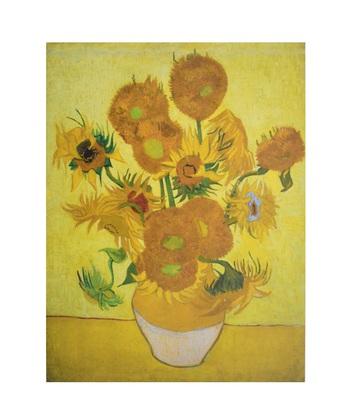Vincent Van Gogh Sonnenblumen Poster Kunstdruck Bei Germanpostersde